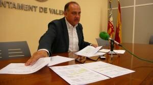 El portavoz del PSPV, Joan Calabuig/gsm