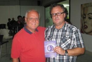 José Antonio Garzón con Rafa Solaz