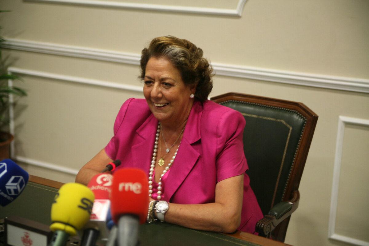 La alcaldesa de Valencia en la primera rueda de prensa después del verano/josé sapena