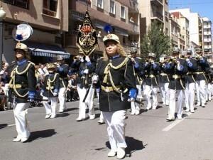 La Banda de Cornetas y Tambores de La Coma en el desfile de hace dos años/eoselblog