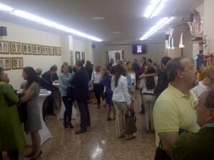 Numerosos falleros e invitados acudieron al acto inaugural/vlcciudad