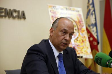 La concejal de Fiestas y presidente de la Junta Central Fallera/ayto de valencia