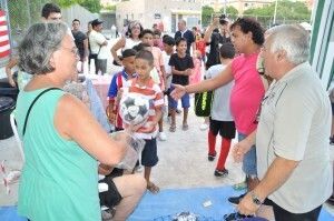 El F.C. Malvarrosa celebró la segunda jornada de convivencia saharaui