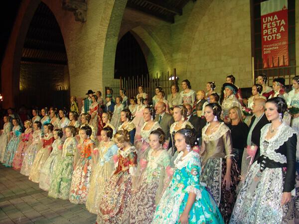 """Edición 2011 de la presentación """"Una Festa per a tots"""" de Maquetas de la Federación de Fallas de Especial"""