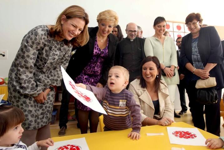 INAUGURACION ESCUELA INFANTIL LA TRILLADORA. TURIS