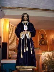 Talla de Jesús de Medinaceli de la Hermandad de Burjassot