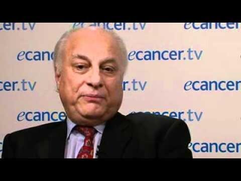 El presidente de la Sociedad Europea de Oncología