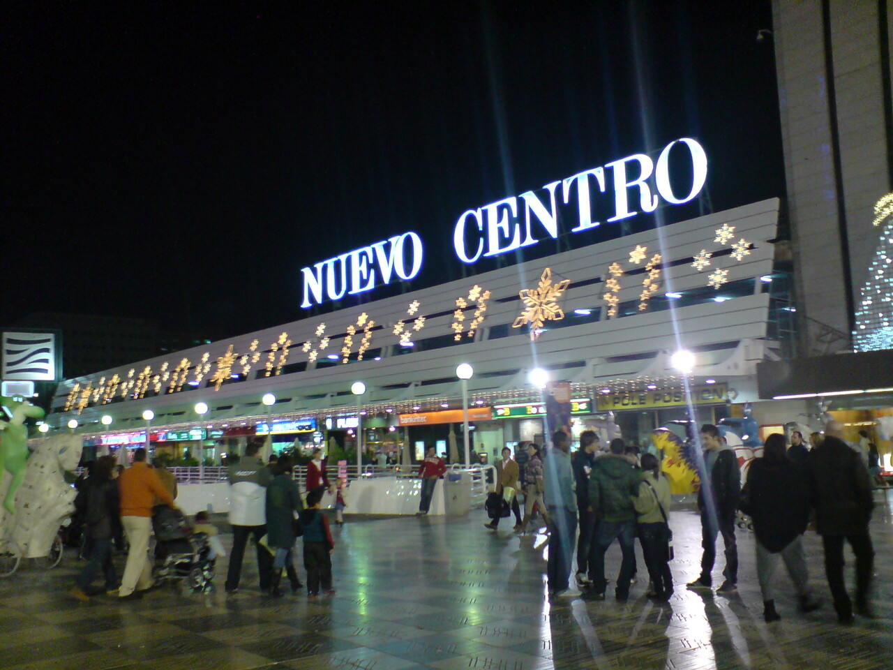 Vista exterior del complejo comercial de Nuevo Centro