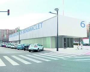 Edificio donde se encuentra el centro de atención a personas mayores de Benimaclet