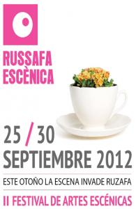 Cartel anunciador de Russafa Escénica