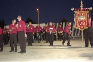 La banda de la Santa Cena de Torrent organizó un certamen solidario el año pasado/hdad. santa cena