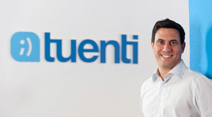 Sebastian Muriel, vicepresidente de Tuenti