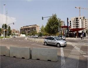 Zona de Campanar donde se harán las obras de la subestación