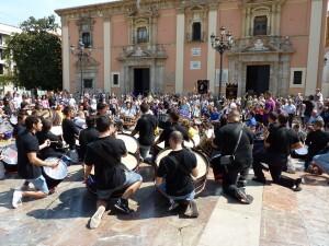 Los amantes del mundo del tambor tuvieron una gran matinal en Valencia/jhssantaalzira