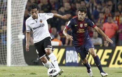 El Valencia CF. no pudo empatar en el Camp Nou/vcf