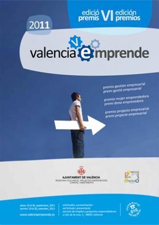 Cartel de Valencia Emprende del año pasado