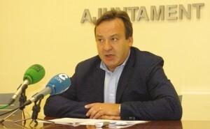 El concejal del PSPV, Vicent Sarriá.