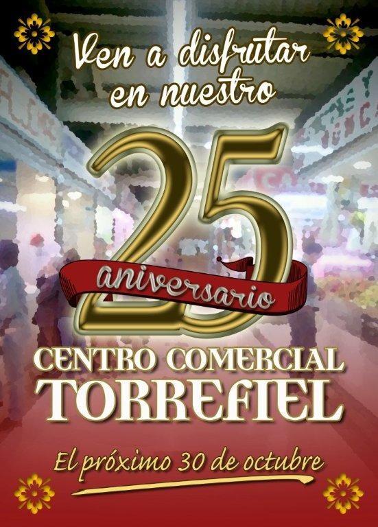 Cartel del aniversario del Mercado de Torrefiel