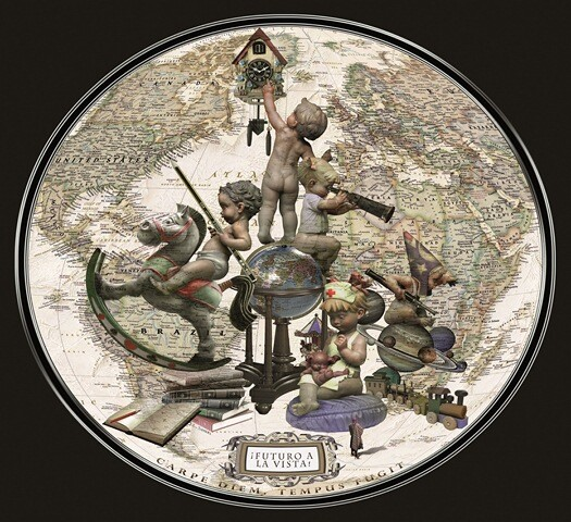 Boceto de la Falla grande 2013 de Almirante Cadarso - Conde de Altea