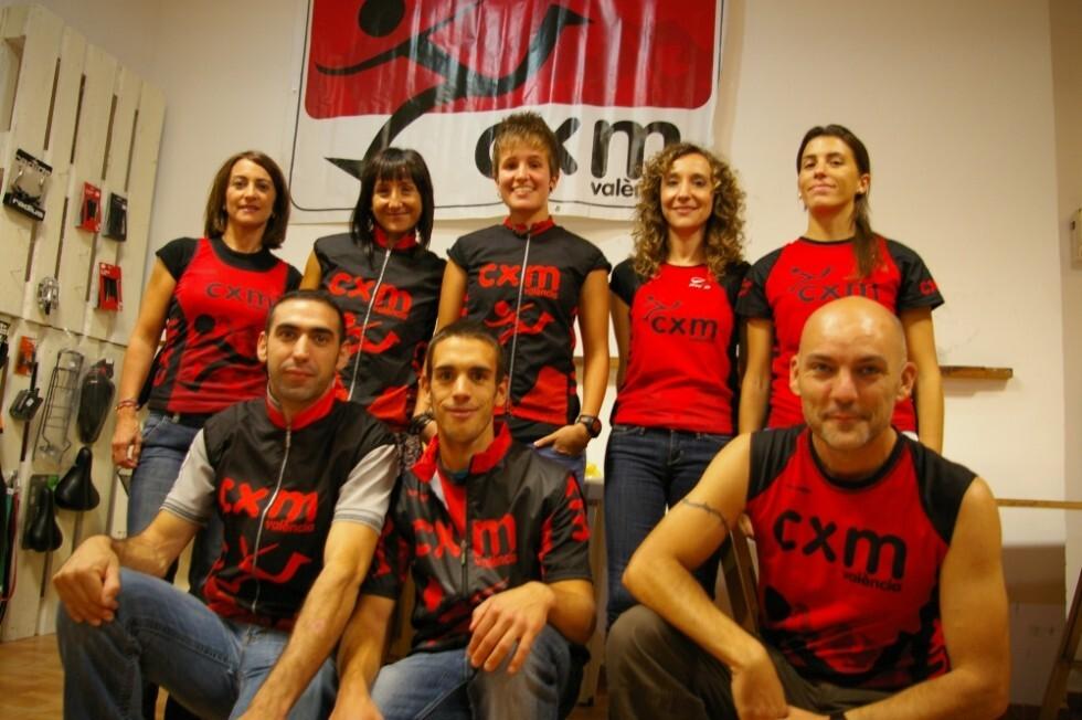 El Equipo CXM de Valencia que participará en el campeonato de Vall d´Uixó