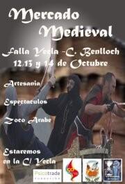 Cartel de la Feria Medieval/yecla