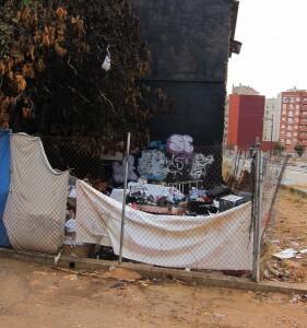 EU ha denunciado la existencia de asentamientos en el barrio/eu