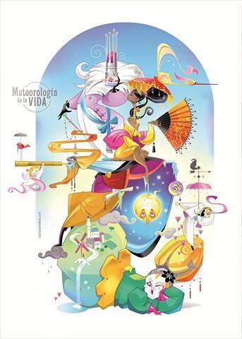 Boceto de la Falla grande 2013 de Sueca - Literato Azorín