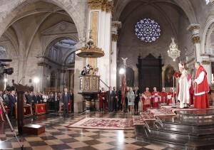 El arzobispo ha presidido el Te Déum en la Catedral/AVAN