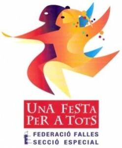 Logo del evento de la Federación de Fallas de Especial