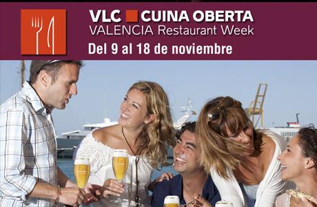 Cartel oficial del Valencia Cuina Oberta 2012