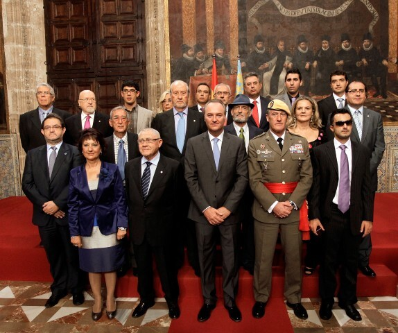 Valencia 09102012. Distinciones Generalitat 9 Octubre
