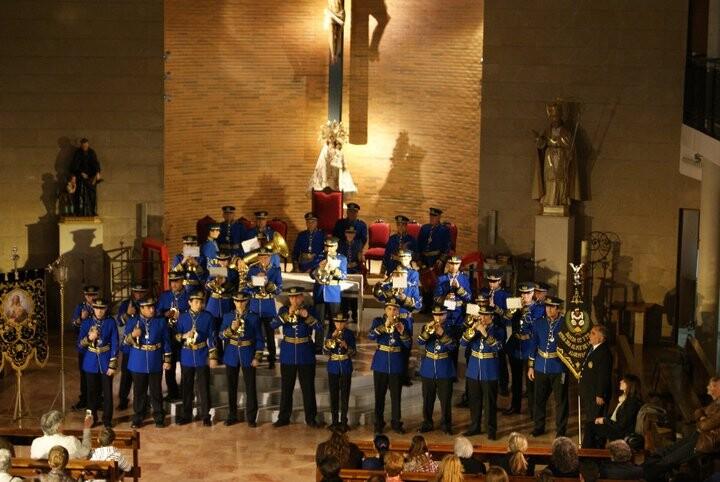 La banda de Algemesí en un concierto/bbccytt