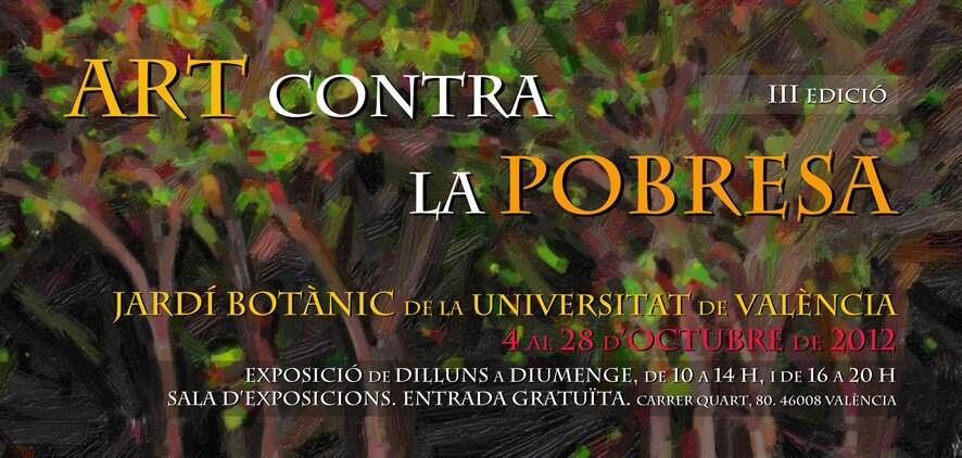 Cartel de la exposición que se inaugurará el jueves en el Botánico