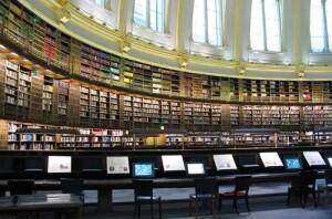 British Library de Londres donde están los documentos de San Juan de Ribera