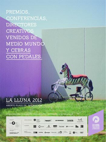 Uno de los carteles del Festival La Lluna 2012