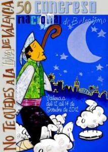 Cartel oficial del 50 congreso belenistas/abv