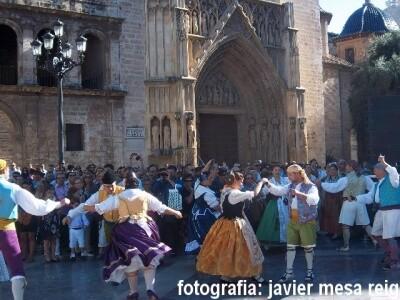 Un momento de una dansa de años pasados/javier mesa