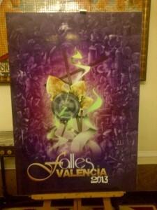 Cartel oficial de las Fallas 2013/vlcciudad