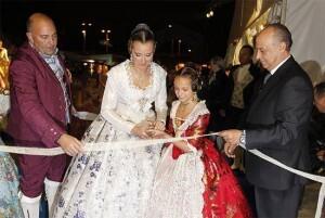 Las Falleras Mayores de Valencia inauguran la pasada edición de una Festa per a Tots/ciberfallas
