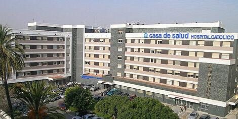 Vista general de los edificios del Hospital de la Casa de la Salud