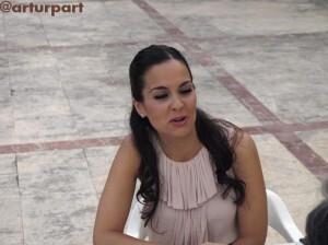 Isabel Vicente Pérez en la entrevista/sergio blanco