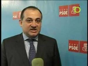 Joan Calabuig, portavoz socialista en el consistorio y secretario general del PSPV en la ciudad