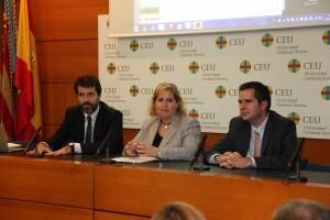 La concejala de Medio Ambiente durante la conferencia