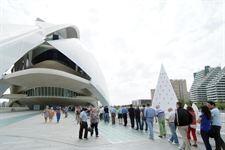 Interior del Palau de les Arts que recibe un 50% menos de ayuda estatal en 2013
