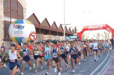 Un grupo de atletas corren en una edición pasada del PasRas
