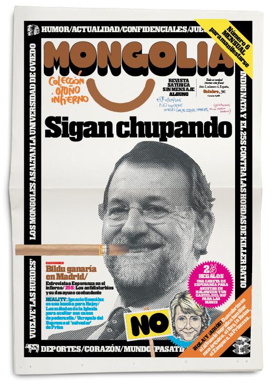 portada de una de la ediciones de mongolia
