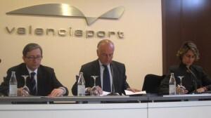 El presidente de la Autoridad Portuaria de Valencia durante una comparecencia