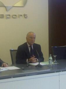 El presidente del puerto, Rafael Aznar/vlcciudad
