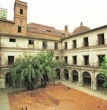 Interior del monasterio de San Vicente de la Roqueta