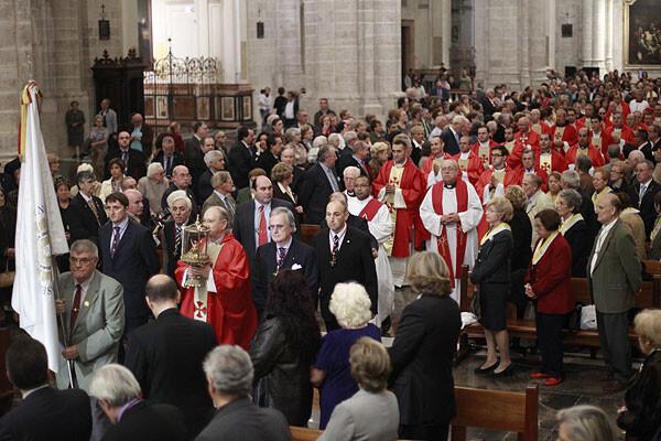 Un momento del acto que se celebró el año pasado en la Catedral/avan